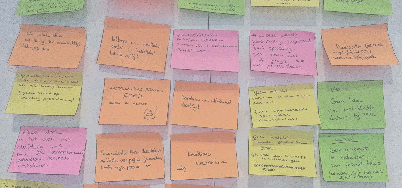 Post-its ideas